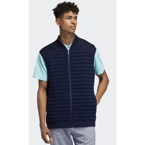 Adipure by adidas Quilted Hybrid Knit Golf Vest L